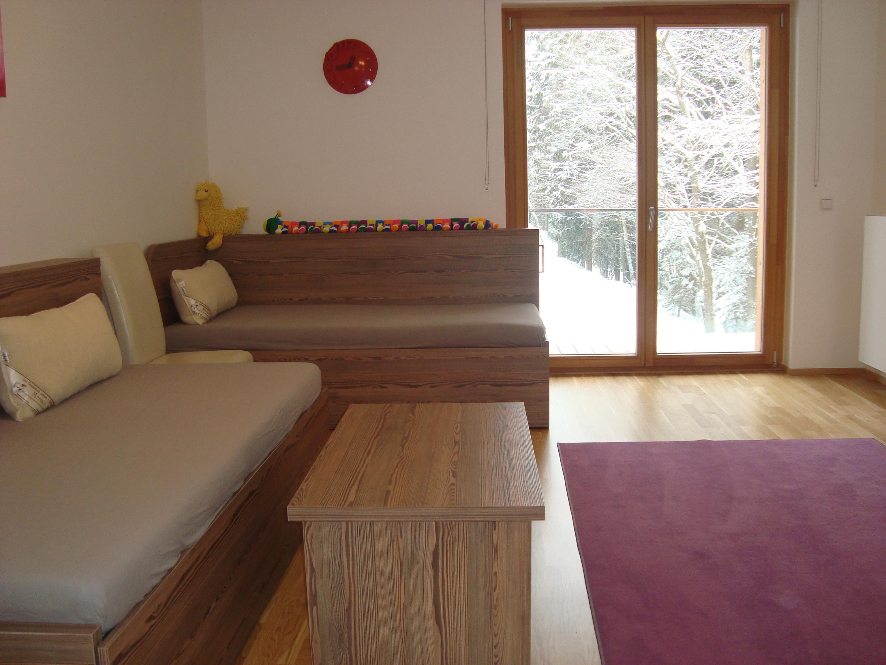 apartmán ve špindlerově mlýnu poskytuje dostatek prostoru pro ubytování s celou rodinou