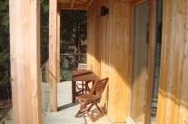 Ubytování s venkovní terasou