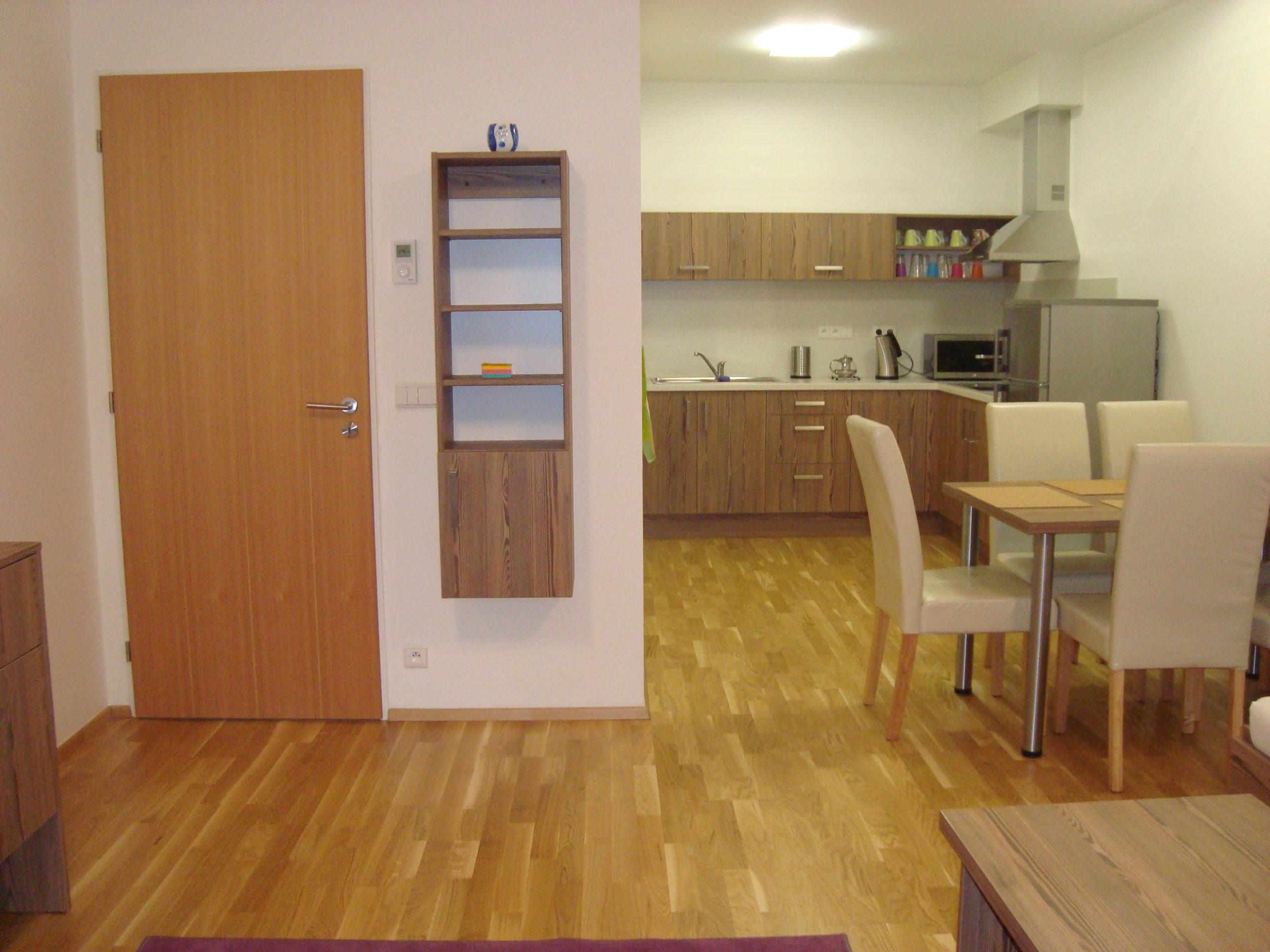 ubytování pro rodinu v apartmánu s plně vybavenou kuchyní
