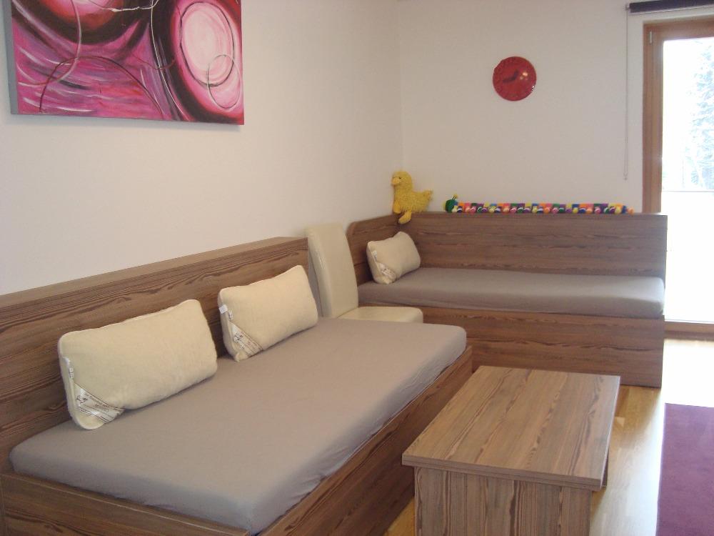 obývací pokoj apartmánu ve špindlu