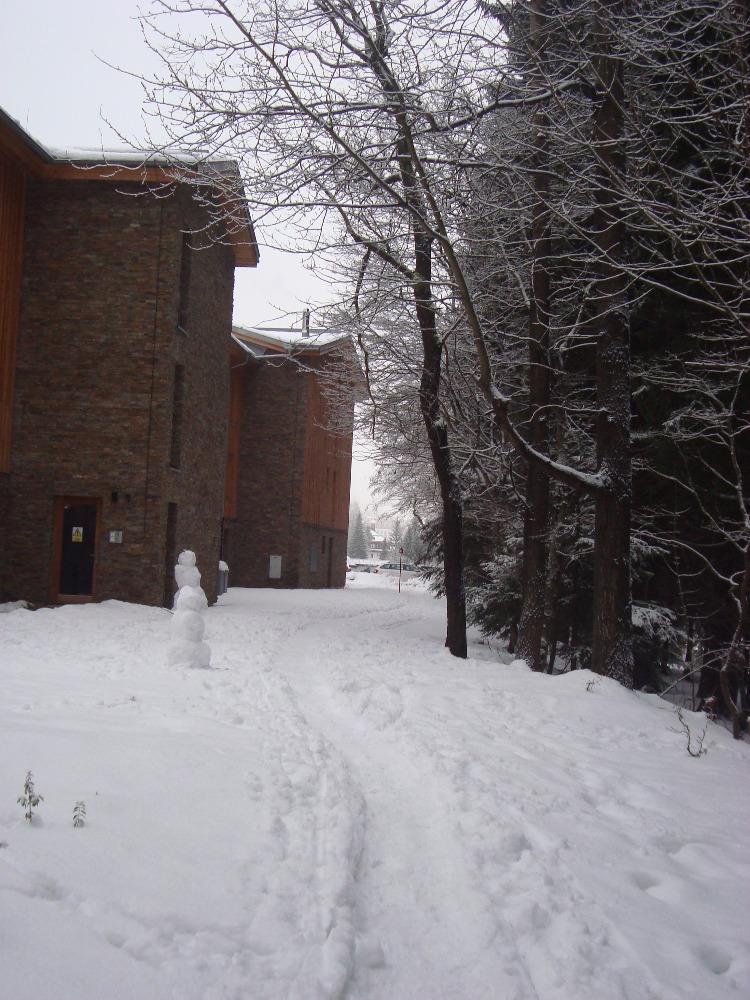 cesta ke sjezdovce apartmán špindlerův mlýn